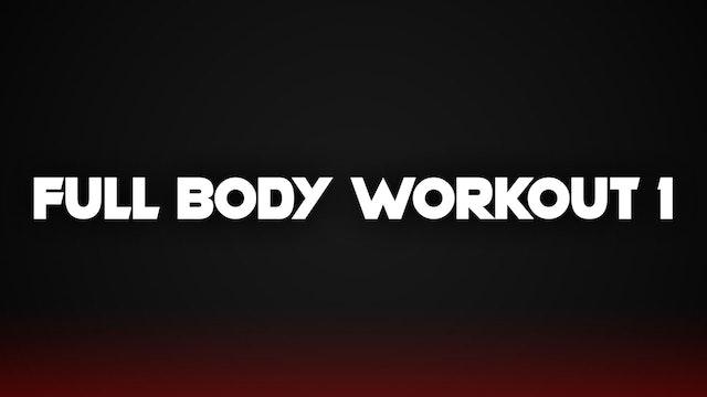 Full Body Workout #1