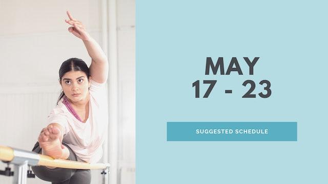 May 17 - 23 2021