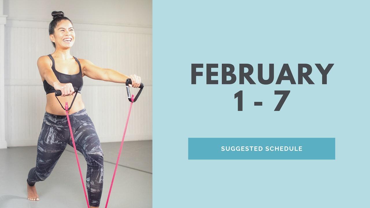February 1 - 7 2021