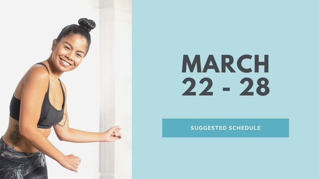 March 22 - 28 2021