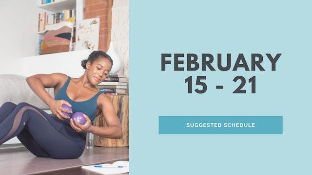 February 15 - 21 2021