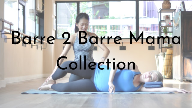Barre 2 Barre Mama: Pre and Post Natal Collection