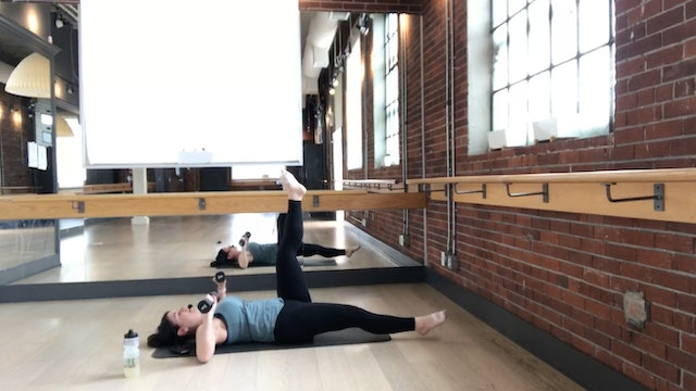 Arms + Abs with Reanna