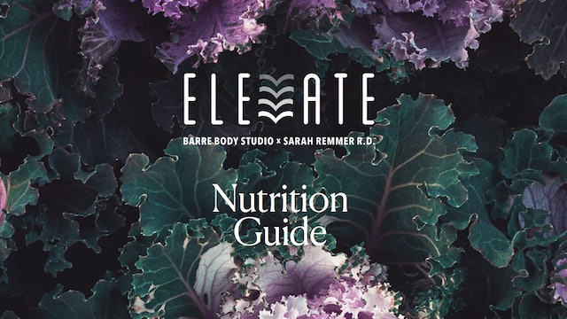 ELEVATE Nutrition Guide
