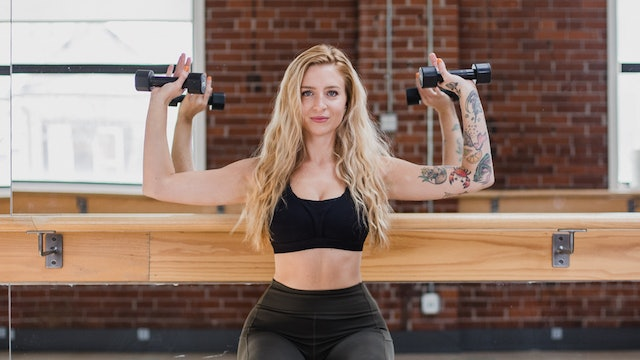 WED, MAR 3 12PM MST // Abs + Arms + Ass with Vanessa