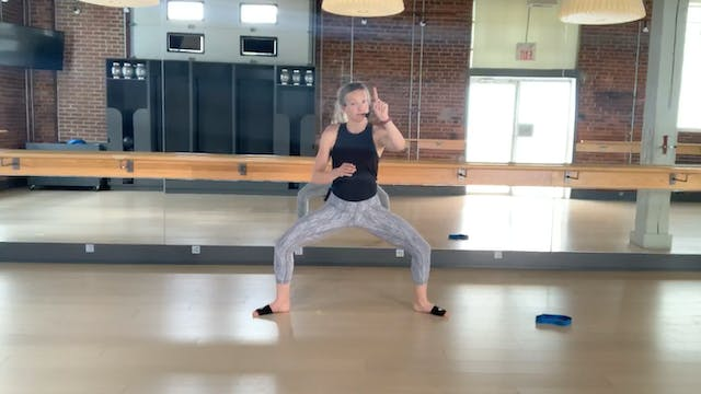 Barre Press Low Impact with Chelsey