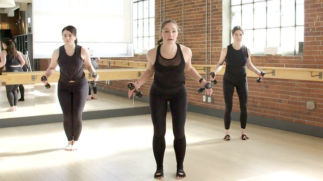 Barre+Core+Stretch with Crystal