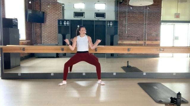 Barre Press #3 with Sharon