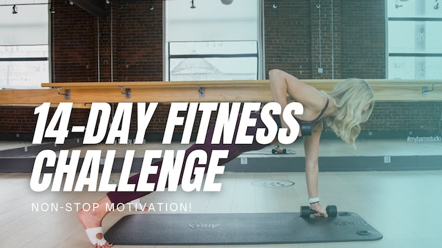 14-DAY FITNESS CHALLENGE