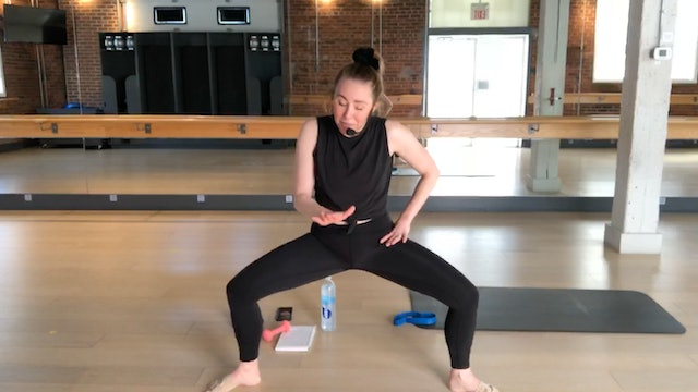 Barre Body Fit Live with Lindsay April 19, 2020