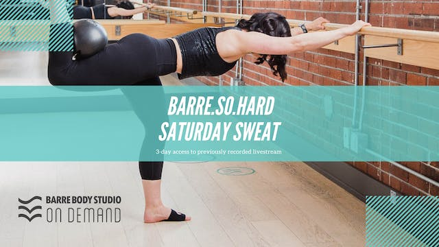 BARRE.SO.HARD Saturday Rental with Emma C