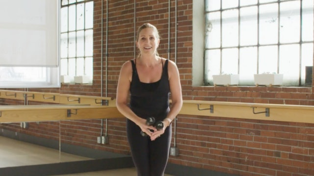 Barre Body Fit Low Impact with Tara