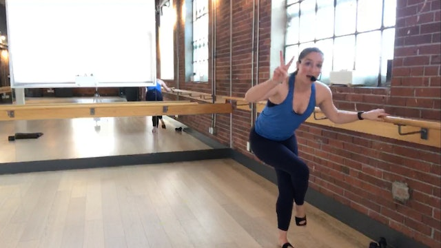 Barre+Core+Stretch Live with Crystal April 23, 2020