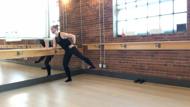 Barre+Core+Stretch Live with Crystal March 26, 2020