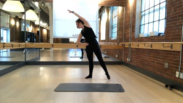 Barre+Core+Stretch Live with Crystal March 19, 2020
