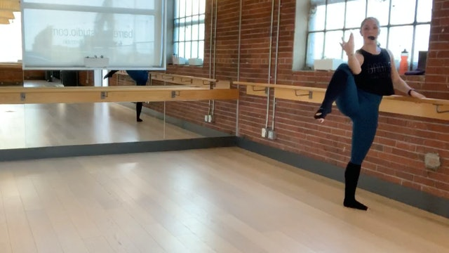 Barre+Core+Stretch Live with Crystal April 9, 2020