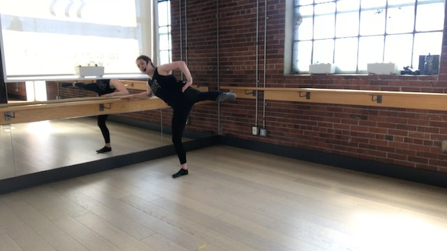 Barre Press with Heather