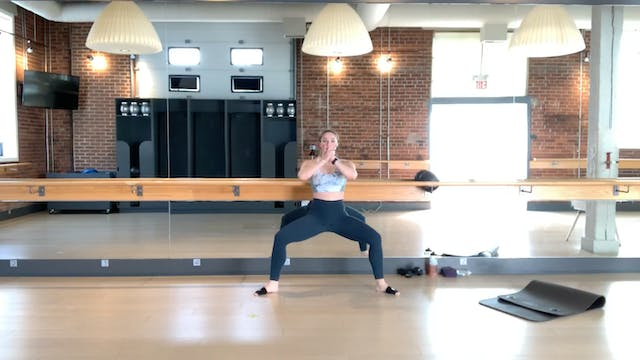 Barre Body Fit #2 with Crystal
