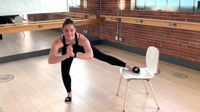 Chair Based Workout with Crystal