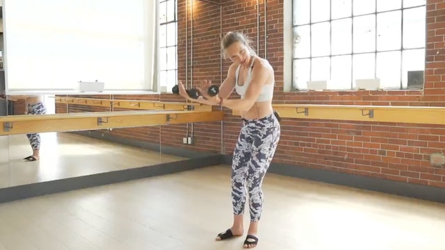 Arms + Cardio with Chelsey