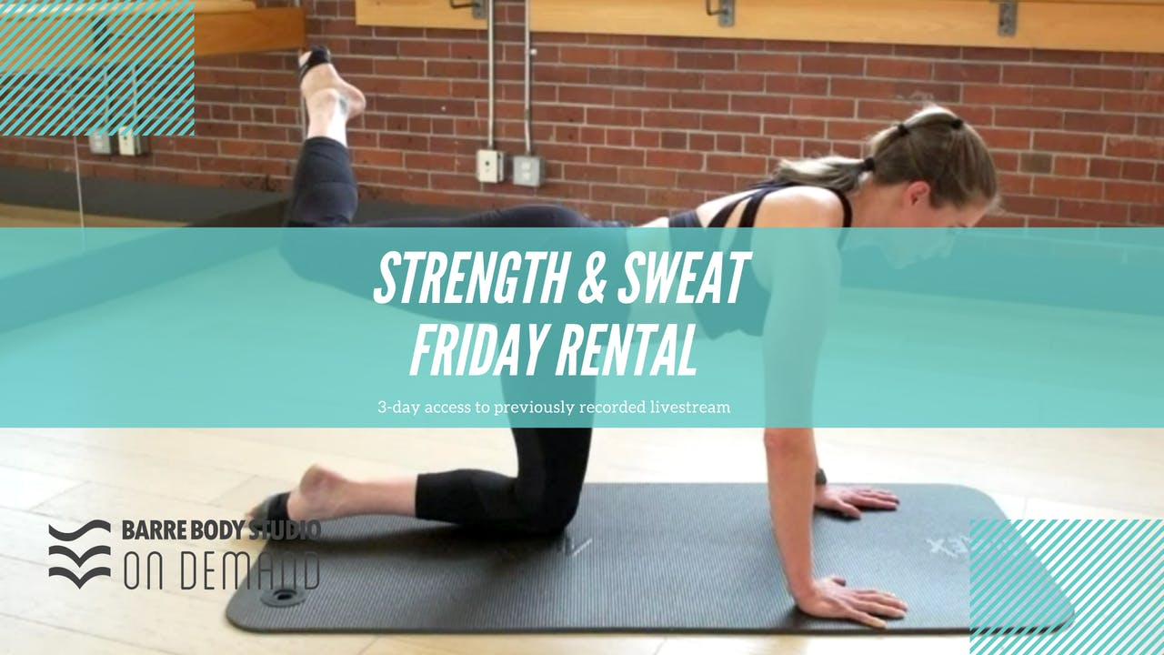 Strength + Sweat with Nicole (June)