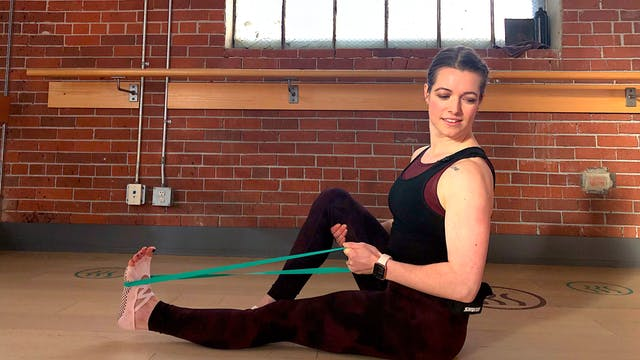 Barre Press #3 with Heather