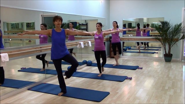 Barre Fitness: Lower Body #1 (10 Min)