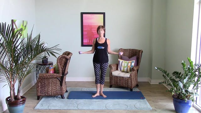 Barre Fitness: Upper Body #2 (10 min)
