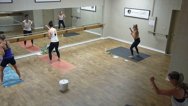 Barre Boxing Express w/ Hayley