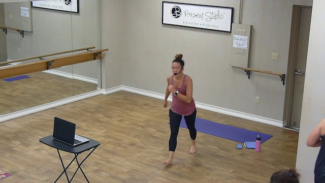 Barre Boxing Express w/ Shayna