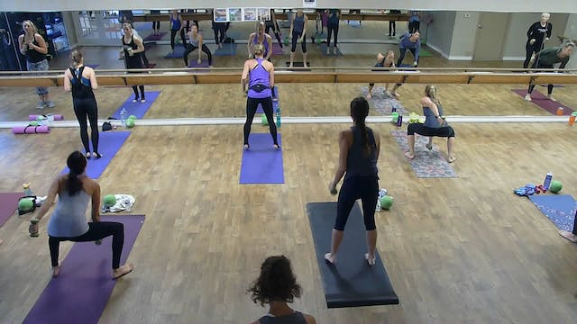Barre Bootcamp w/ Samantha