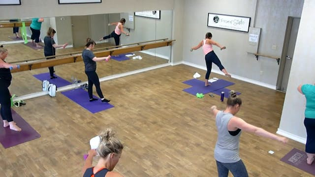 Barre Bootcamp w/ Stephanie