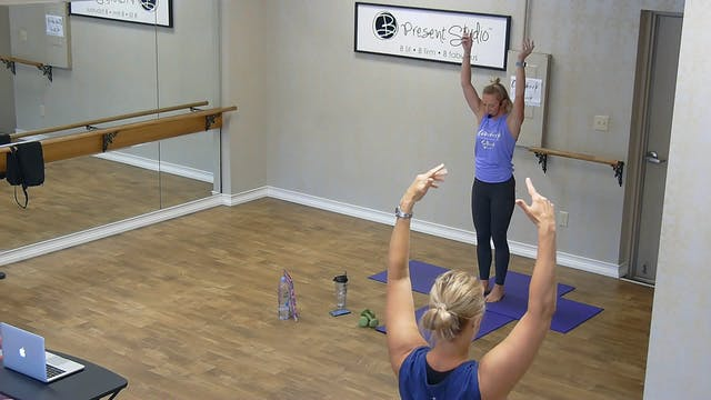 Barre Boxing Express w/ Jessica