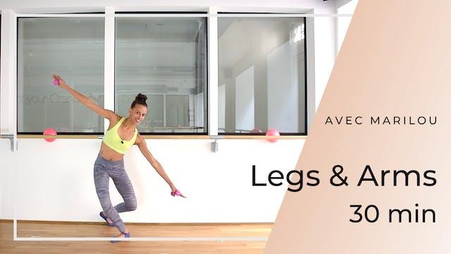Semaine 2 - Jour 5 : 30' LEGS & ARMS