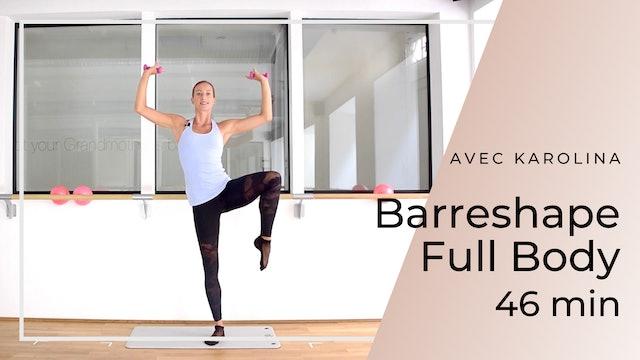 Barreshape Full Body Karolina 46mn