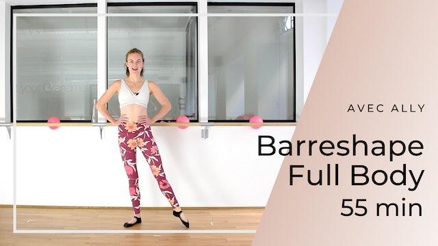 Barreshape Full Body Ally 55 mn
