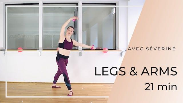 Semaine 3 : Jour 1 : LEGS & ARMS 21 minutes