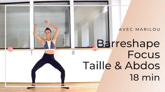Barreshape Focus Taille & Abdos Maril...