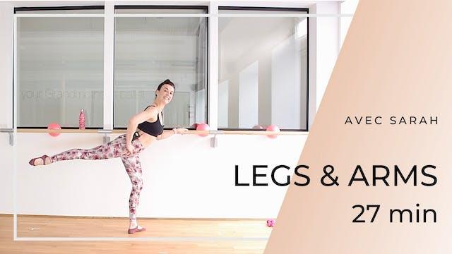 Semaine 5 : Jour 4 : LEGS & ARMS 27 m...