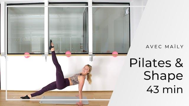 Pilates & Shape Maïly 43 mn