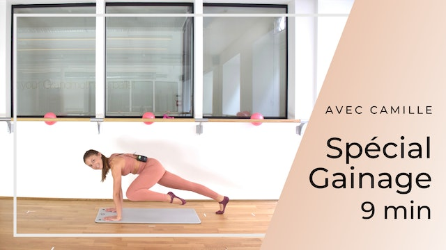 New Year New You ! Barreshape Spécial gainage Camille 9 mn