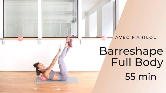 Barreshape Full Body Marilou 55 mn