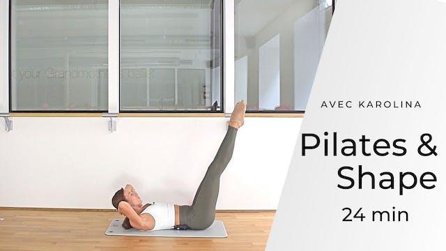 Pilates & Shape Karolina 24 mn