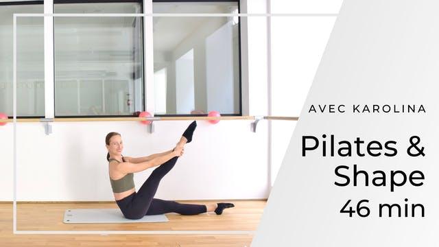 Pilates & Shape Karolina 46 mn
