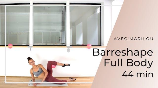 Barreshape Full Body Marilou 44 mn