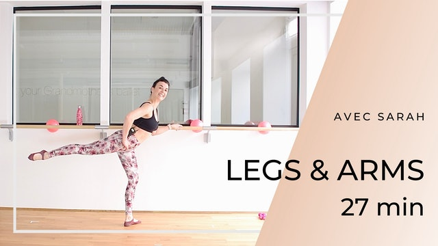 LEGS & ARMS Sarah 27 mn