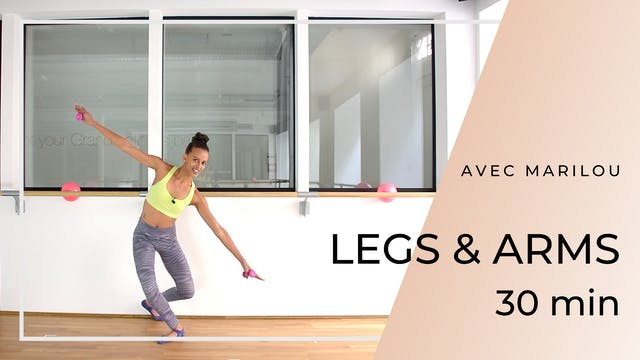 LEGS & ARMS Marilou 30 mn