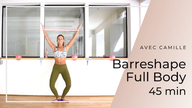 Barreshape Full Body Camille 45mn