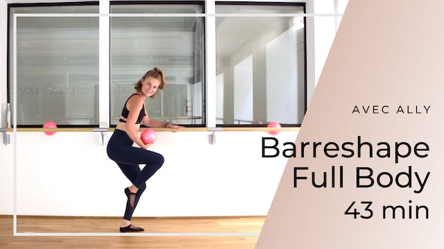Barreshape Full Body Ally 43 min