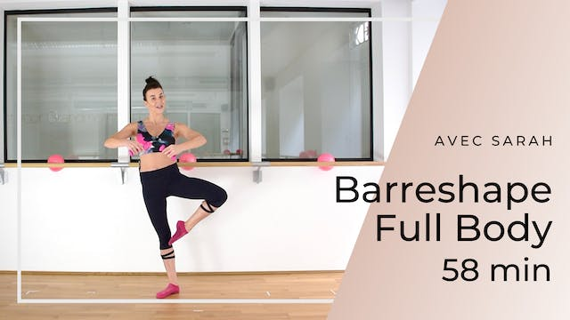 Barreshape Full Body Sarah 58 min